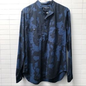 Marc by Marc Jacobs navy and black shirt